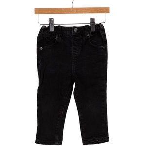 Infant Burberry StraightLeg Nova Check Trim Jeans